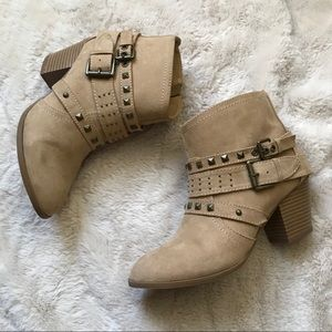 Express studded ankle bootie size 7